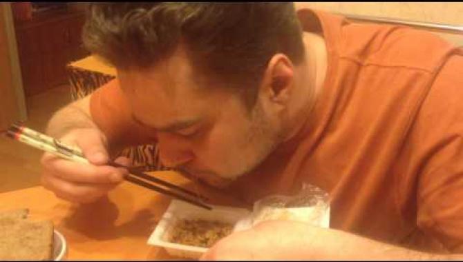 Диман съел целую пачку Натто. часть 1