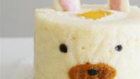 Японский рулет с кроликами / Japanese Decoration Rabbit Roll Cake / うさぎのデコロール
