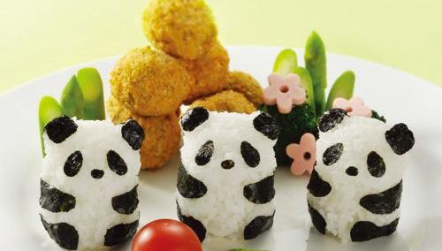 Панда-онигири - самый милый обед на свете!
