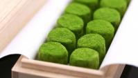 Трюфели с зелёным чаем