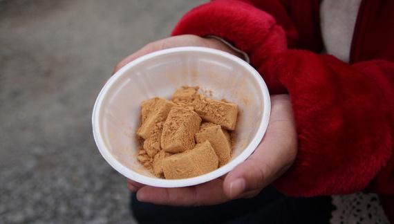 Рецепт жареной соевой муки кинако (きなこ)
