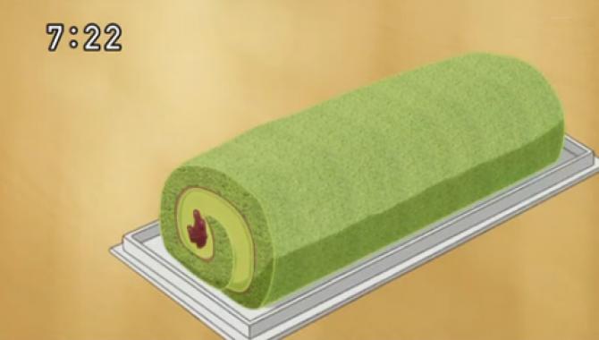 Рулет с Матча из аниме
