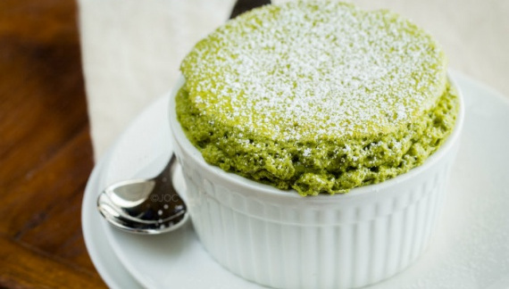 Суфле с зелёным чаем 抹茶スフレ