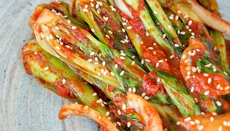 Кимчи из капусты бок-чой и банана - пошаговый рецепт