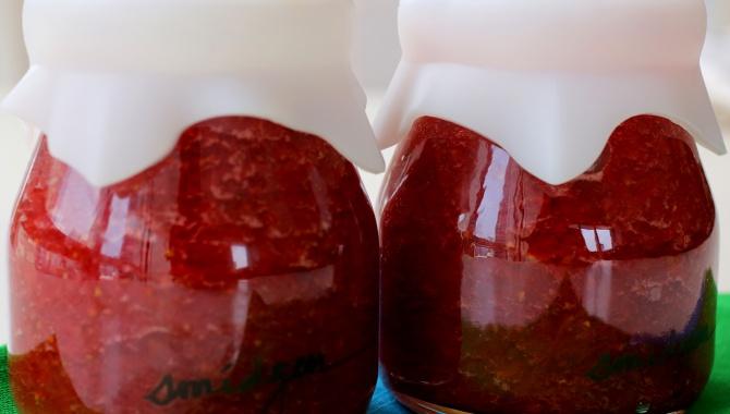 Клубничный джем - пошаговый рецепт