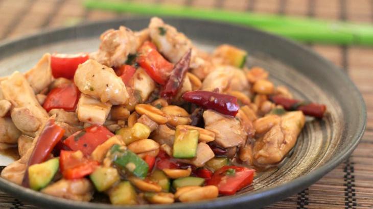 Курица Кун Пао - пошаговый рецепт