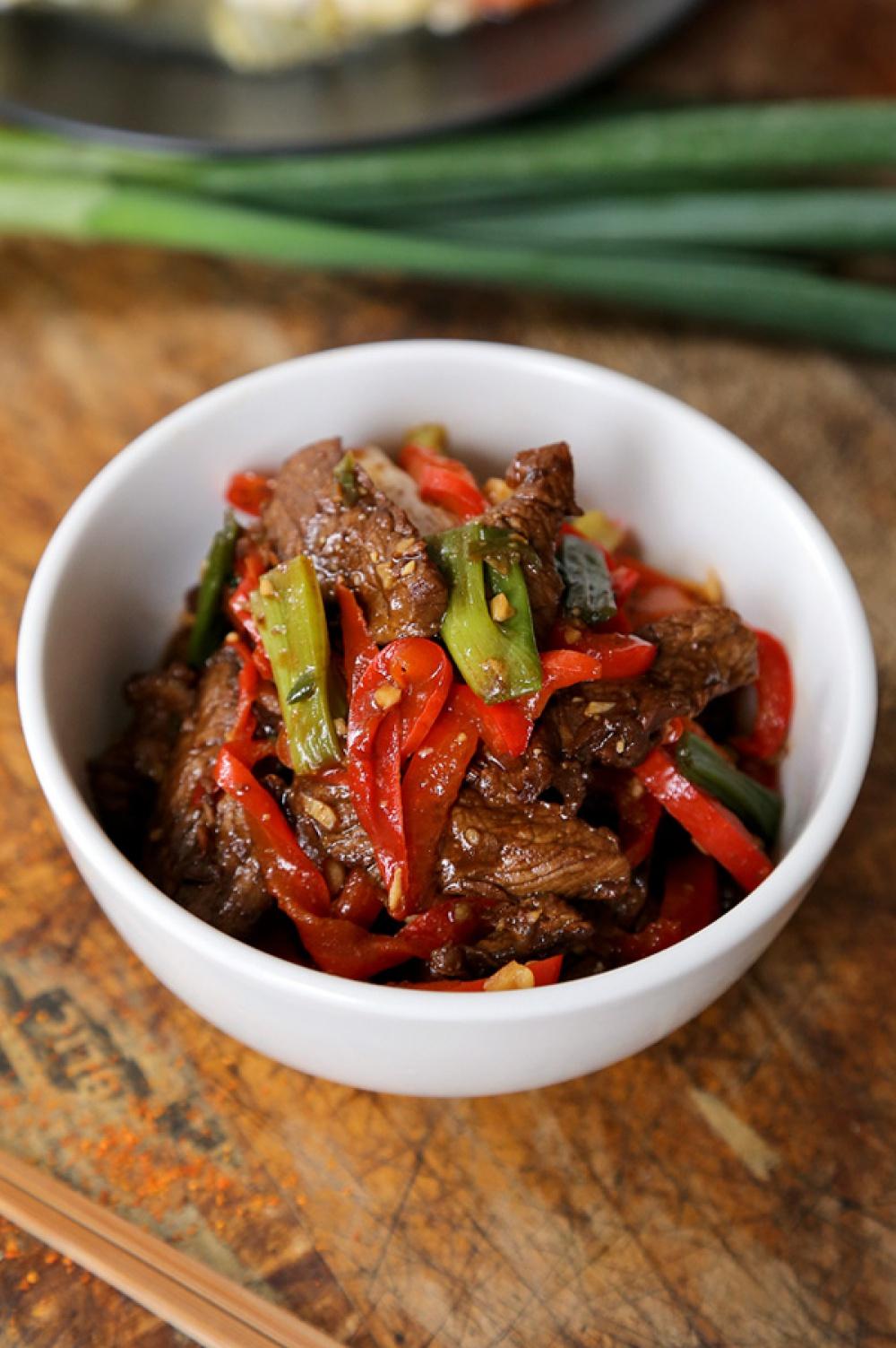 Говядина острая по-китайски рецепт