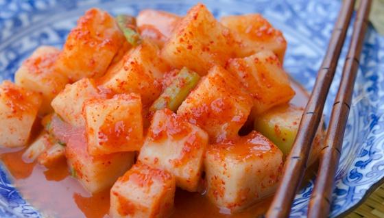 Кимчи из редьки - пошаговый рецепт