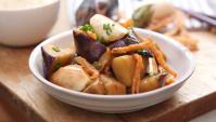 Острые креветки с баклажанами - пошаговый рецепт