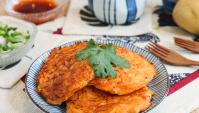 Острые картофельные лепёшки - пошаговый рецепт