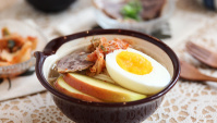 Холодная лапша в Корейском стиле - пошаговый рецепт