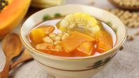 Сладкий суп из папайи и кукурузы - пошаговый рецепт