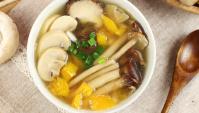 Суп с тыквой и грибами - пошаговый рецепт