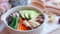 Миска риса с овощами - пошаговый рецепт