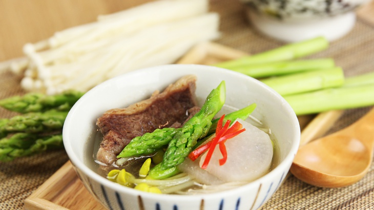 Суп с говяжьими рёбрышками и редькой - пошаговый рецепт