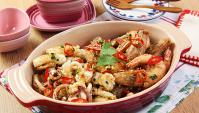 Жареные морепродукты c приправами - пошаговый рецепт