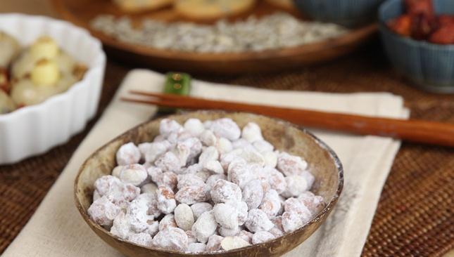 Арахис, покрытый сахаром - пошаговый рецепт