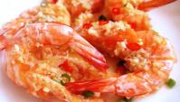 Креветки с чесночным соусом - пошаговый рецепт