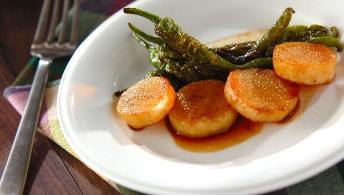 Сладкий перец с ямсом в соусе - пошаговый рецепт