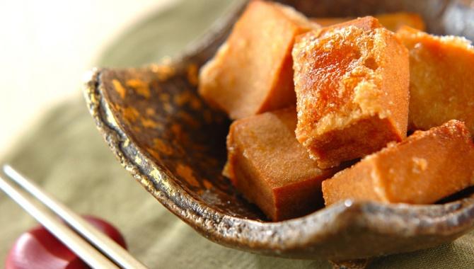 Жареный тофу - пошаговый рецепт
