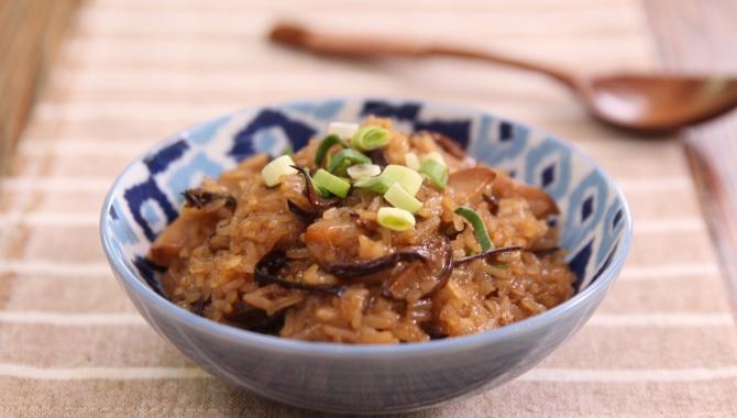 Рис с грибами - пошаговый рецепт