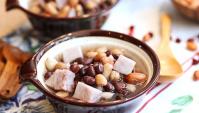 Сладкий суп с таро и арахисом - пошаговый рецепт