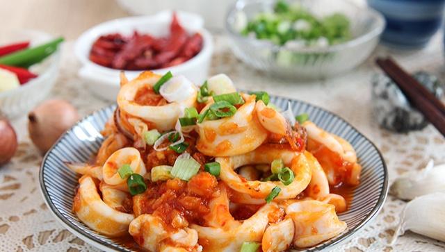 Пряные кальмары с чили - пошаговый рецепт