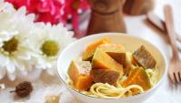 Лапша с тыквой - пошаговый рецепт