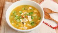 Суп с тофу и крабовым мясом - пошаговый рецепт