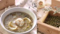 Сладкий суп с зелёными бобами и луковицей лилии - пошаговый рецепт