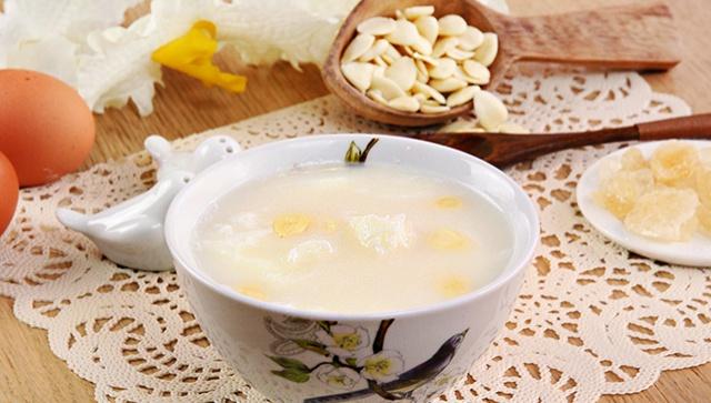 Сладкий миндальный суп с яичными белками - пошаговый рецепт