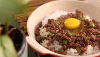 Приготовленный говяжий фарш с рисом - пошаговый рецепт
