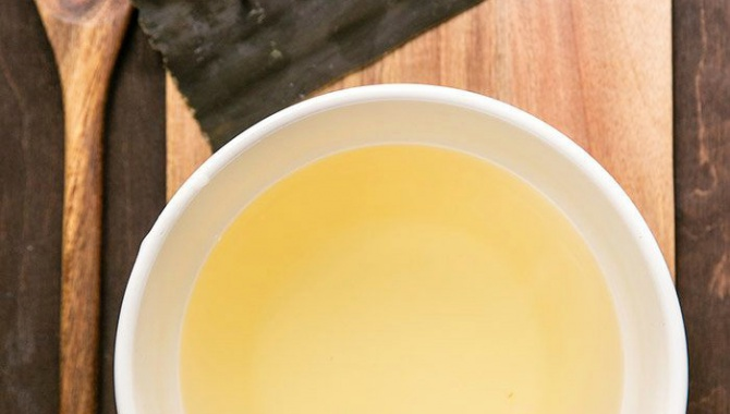 Вегетарианский бульон Комбу Даси - пошаговый рецепт