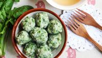 Рыбные шарики со шпинатом - пошаговый рецепт