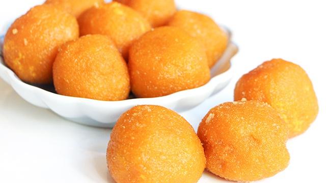 Жареные тыквенные шарики - пошаговый рецепт