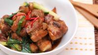 Свиные рёбрышки с чесноком - пошаговый рецепт