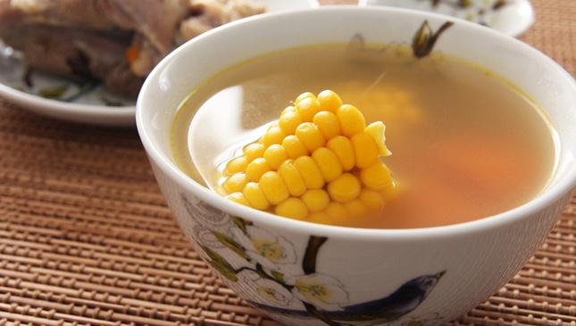 Суп со свининой, морковью и кукурузой - пошаговый рецепт