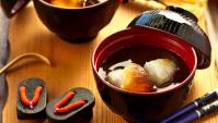 Дзендзай (Осируко) – суп из красных бобов