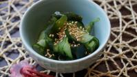 Суномоно – огуречный салат с вакамэ