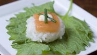 Темаридзуси с лососем