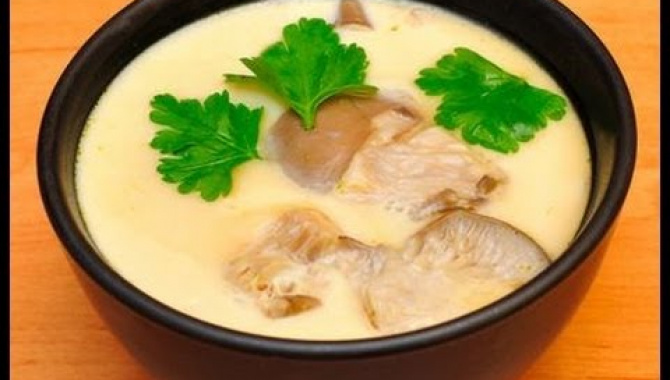 Рецепт вкусного японского омлета Чаван муши.