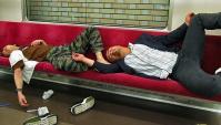 Как отдыхают и пьют японцы.