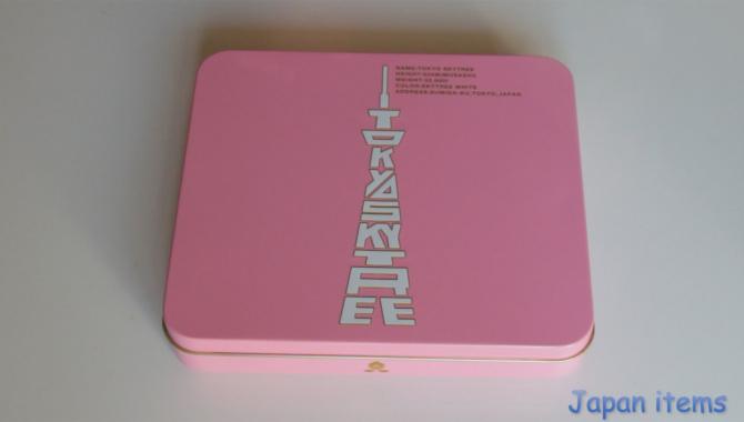 Вкусный сувенир из токийской телебашни Sky Tree. Цена в Японии 1050 иен