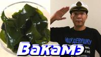 «Вакамэ» - зеленая тонкая морская водоросль