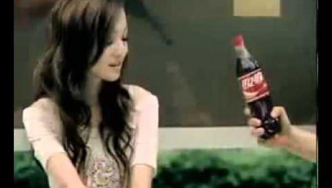 Китайская реклама кока-колы