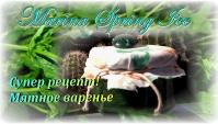 Рецепт мятного варенья