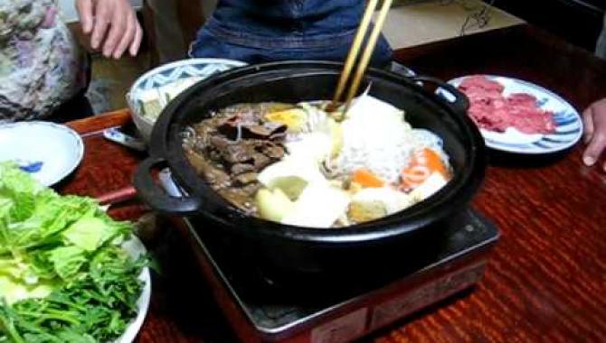 Как приготовить японский сукияки