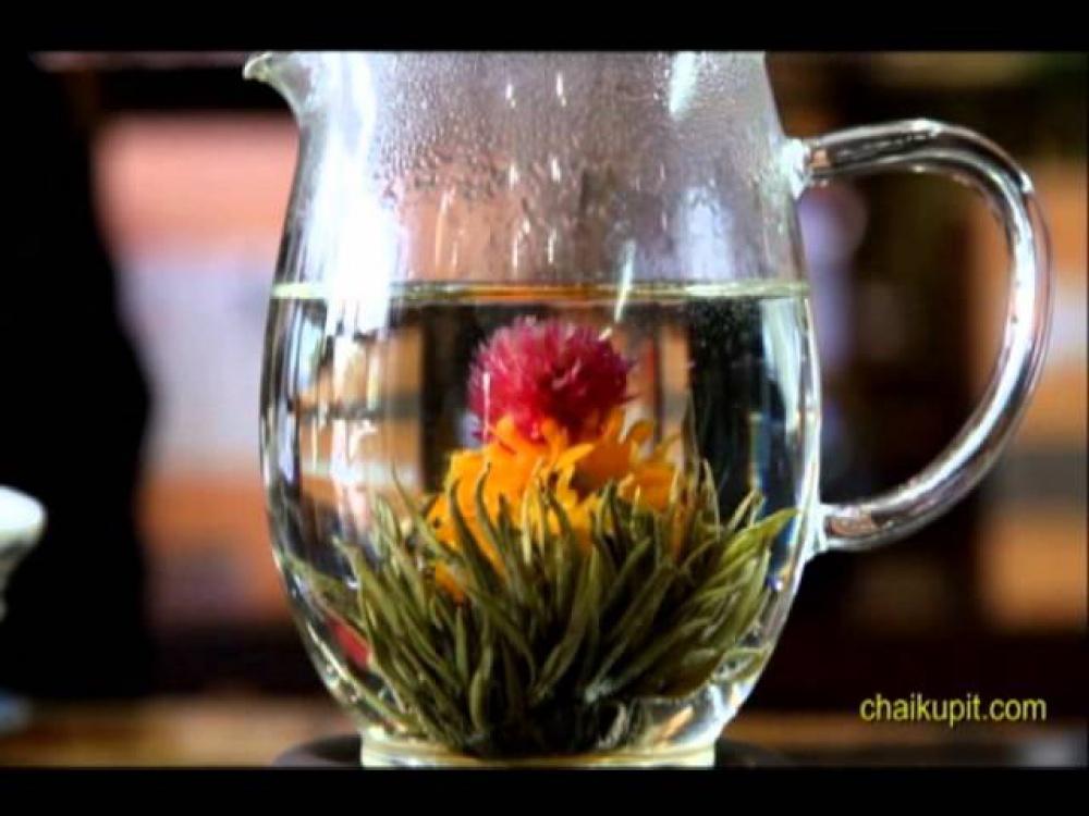 Как заварить раскрывающийся чай