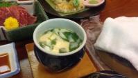 Японская еда в отеле на горячих источниках