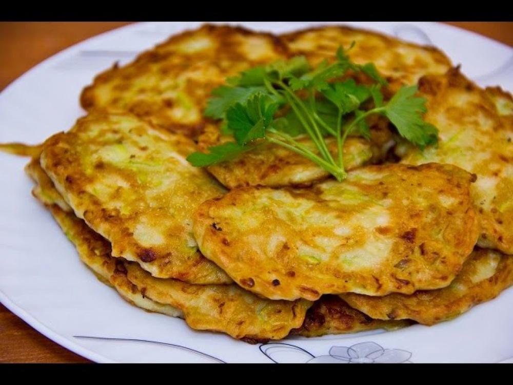 оладья из кабачков рецепт с фото